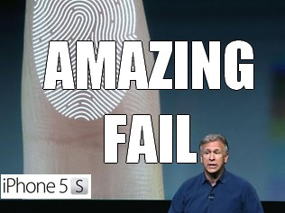 iPhone 5S FAIL